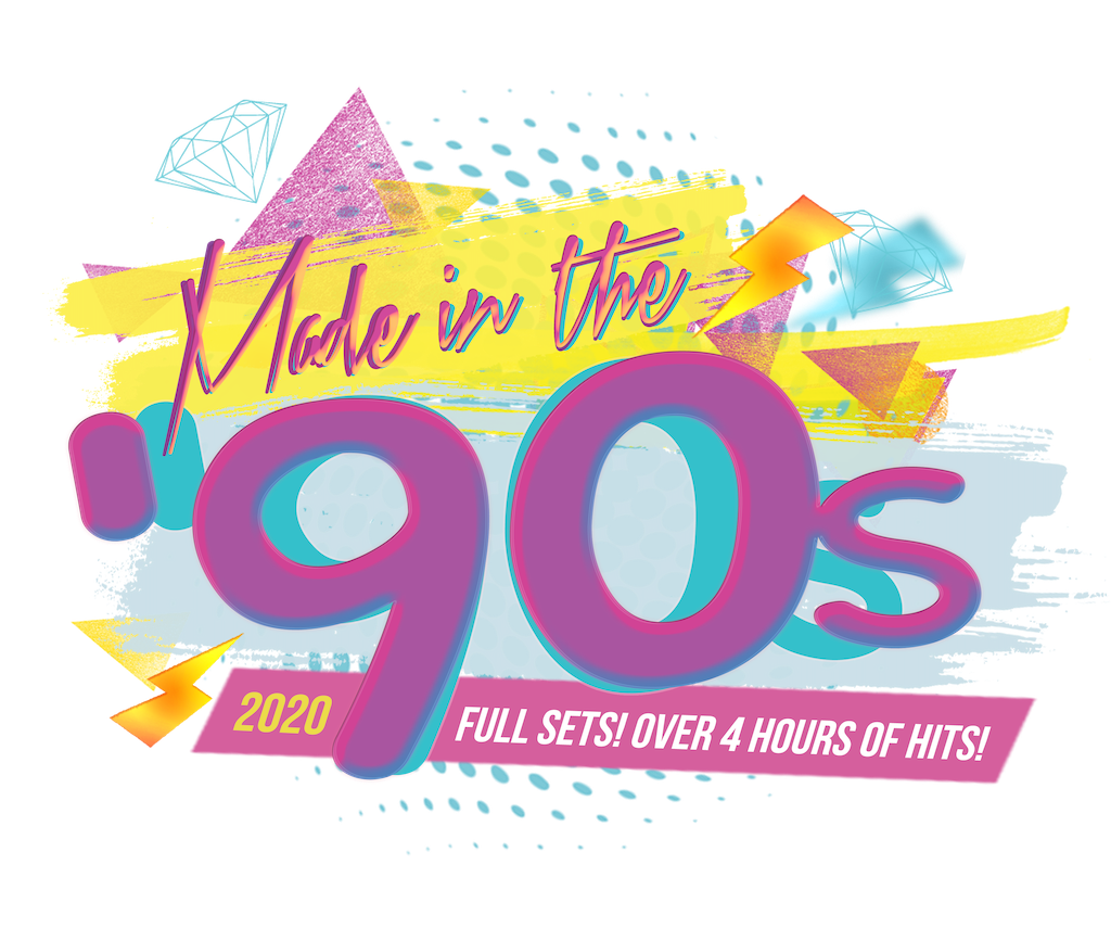 made in the 90s logo